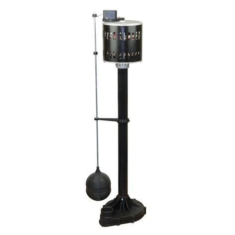 pedestal sump pump everbilt 1 3 hp pedestal sump pump scn250 lq the home depot