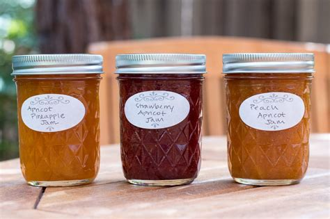 Handmade Jam - strawberry apricot jam lefty spoon