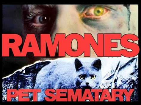 pet sematary ramones ramones pet sematary first time ever live 1989 youtube