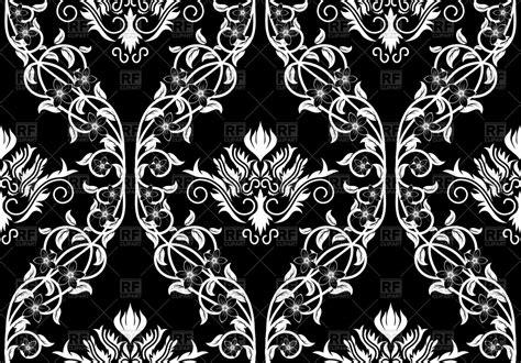 black victorian pattern seamless antique pattern victorian style black wallpaper