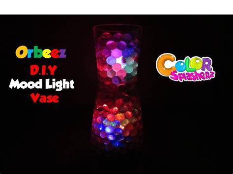 orbeez mood light vase color changing orbeez mood l diy