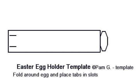 easter egg holder template 17 best images about paper craft templates by pam on