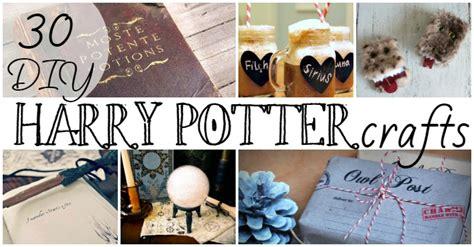 harry potter diy crafts 30 diy harry potter crafts