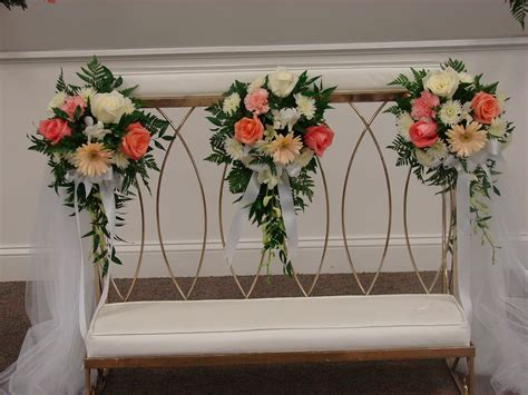 wedding kneeling bench wedding kneeling bench with floral for wedding ceremony