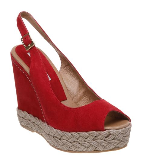 Wedges Simple Moka 1 pied a terre laurel p simple slingback wedge sandals in