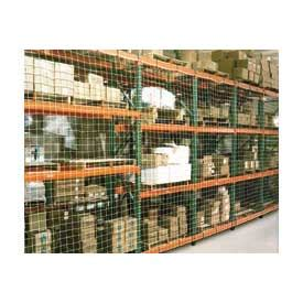 Pallet Rack Netting by Pallet Rack Accessories Pallet Rack Netting One Bay