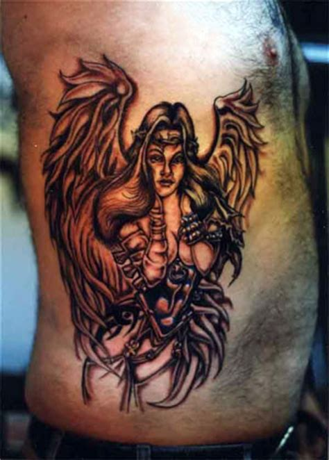 Angel Tattoo Real | temporary tattoos angel tattoos for real men