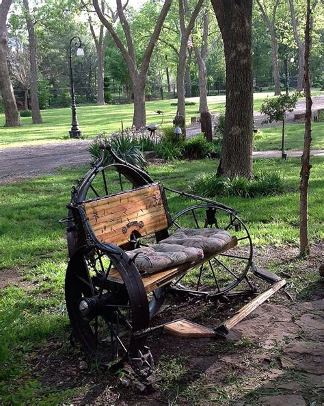 metal wagon wheel bench wagon wheel bench oklahoma life my hand made