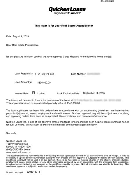Money Loan Approval Letter The Quicken Loans Nightmare Corey Haggard Medium