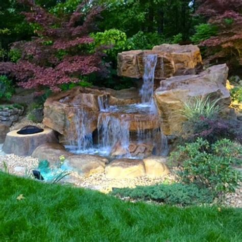 waterfall ideas for backyard the most fanciful backyard water features ideas