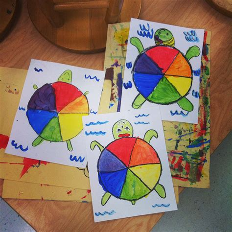 how to teach pattern in art teach and shoot elementary art unit color theory