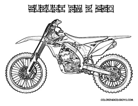 motocross dirt bikes free dirt bike helmets coloring pages