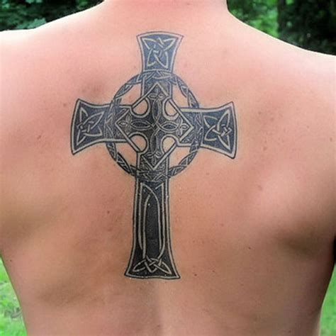 20 awesome cross tattoo on back creativefan
