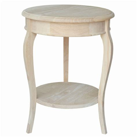 tall accent table megahome 2 shelves glass wood round accent table mh302