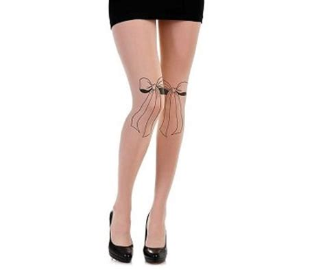 Bow Sheer Tights bow tie tights