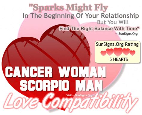 cancer man and scorpio woman in bed cancer woman compatibility with men from other zodiac