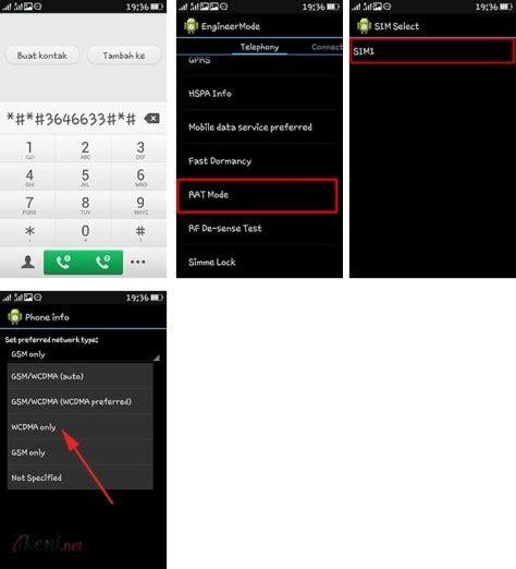 Tablet Jaringan 3g cara lock jaringan android ke 3g atau 4g ikeni net