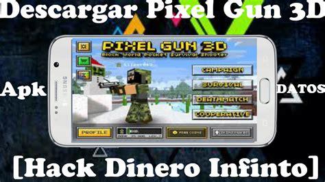 pixel gun 3d hacked apk descargar pixel gun 3d hack apk datos