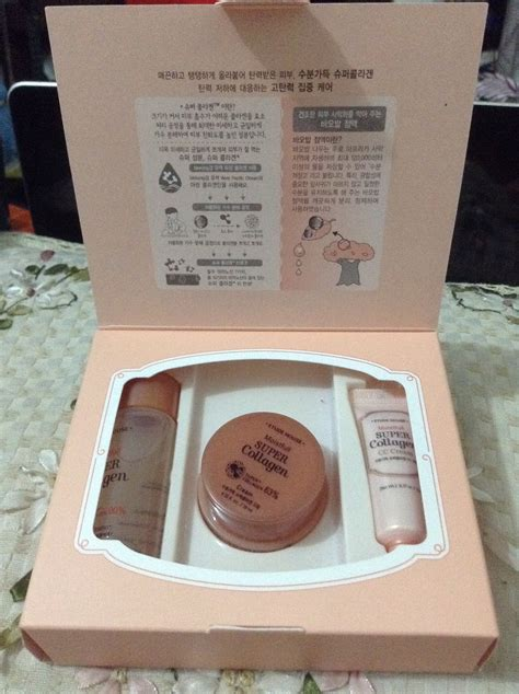Etude Ac Clinic Trial Kit etude house moistfull collagen trial kit review