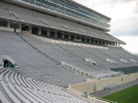 michigan state football stadium seating capacity breaking news on spartan stadium east lansing mi us