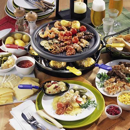 geselliges raclette essen rezept lecker
