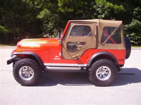1978 Jeep Renegade Purchase Used 1978 Jeep Cj5 Renegade 4wd Restored 304 V8 3
