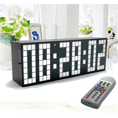 Uhr Schriftanzeige by Kaufen Gro 223 Handel Jumbo Uhr Aus China Jumbo Uhr