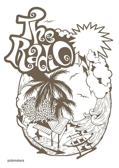 Kaos Band Naif design t shirt the radio by de potsmokers on deviantart