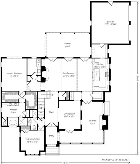 southern living open floor plans shook hill house plan google search houseplans