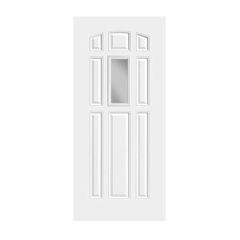 exterior steel doors with glass hd steel 136 8 with clear glass craftwood products for