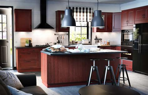 Kitchen Unit Design by Wood Black Kitchen Units Interior Design Ideas