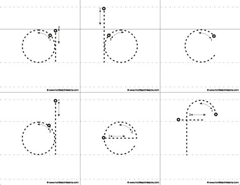 large printable traceable letters montessori lessons tracing big letters a z
