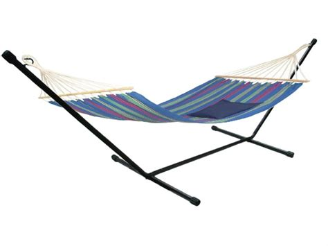 swing carry heavy duty steel hammock stand tri beam outdoor yard patio