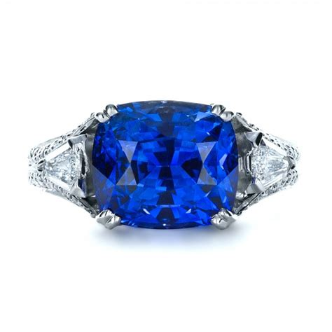 blue sapphire and ring 1273
