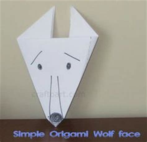 Easy Origami Wolf - 1000 images about pigs wolf on three