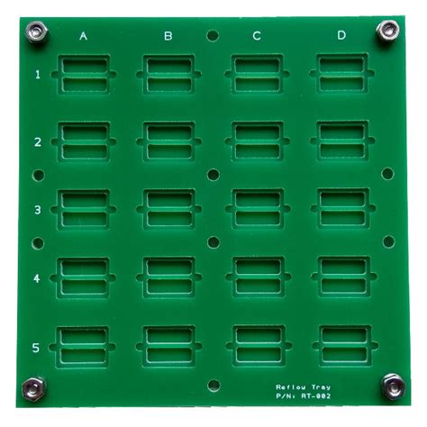 testing integrated circuit chips test jig tray testing ic chips electronic