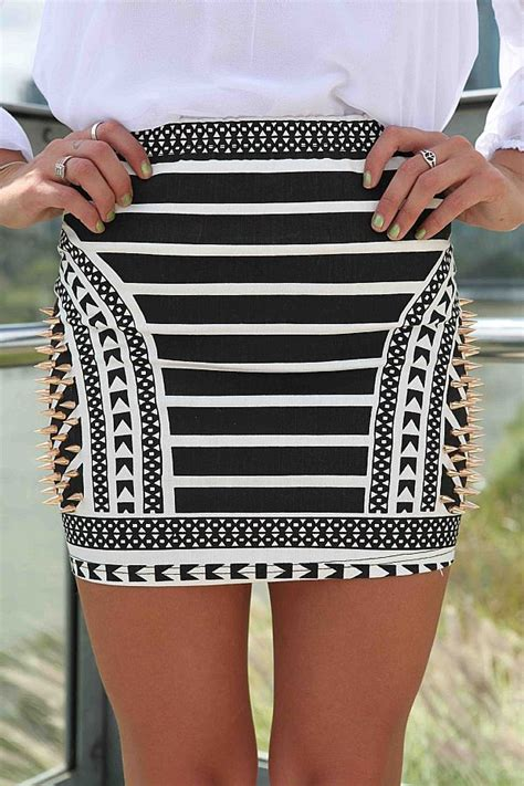 18046 Skirt Blackwhite 124 best images about skirt on floral maxi skirts tribal prints and sequin maxi skirts