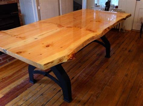 live edge kitchen table for our house woodworking