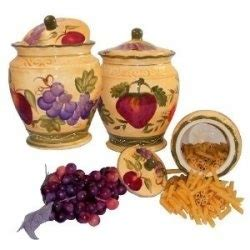 grape canister sets kitchen good outstanding decorative 17 best images about grape home decor on pinterest