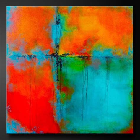 acrylic painting abstract 25 best four square ideas on cut block baby