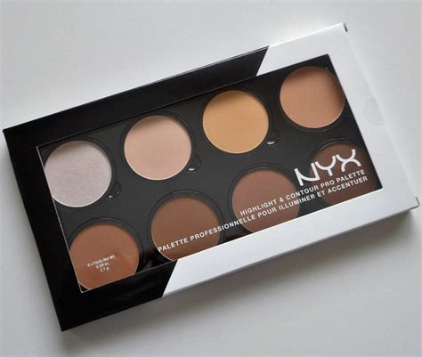Nyx Contour nyx highlight and contour pro palette review