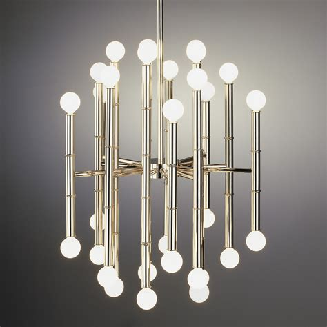 dolores río in light and shade meurice chandelier by jonathan adler ra s654