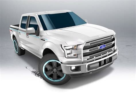 15 ford f150 car die cast and wheels ford f