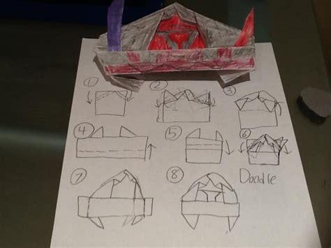 Origami Yoda Book 1 - darth revan with instrux origami yoda