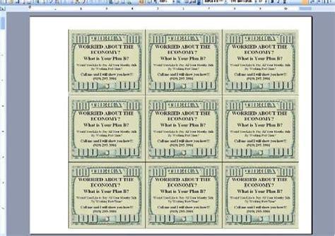 drop cards template create you a custom 100 dollar drop cards template by dan1mcg