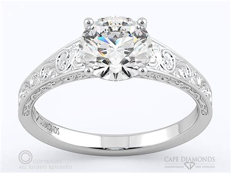 antique engagement wedding ring collection cape diamonds