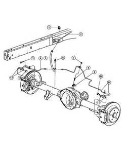 Brake Line Diagram For 1997 Dodge Dakota Dodge Ram 2500 Lines And Hoses Brake Rear