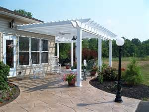 Concrete Pergola Designs by Pergola Design Ideas For Every Outdoor Space By Archadeck