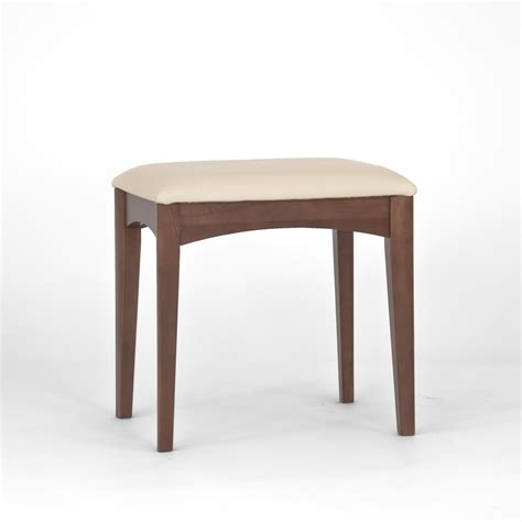 Stool Table by Alba Walnut Dressing Table Stool Oak Furniture Solutions