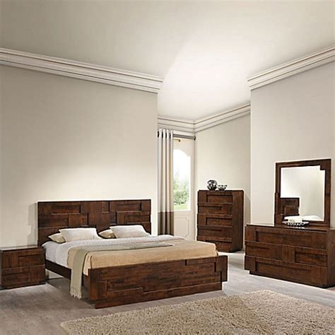 san diego bedroom sets zuo 174 san diego bedroom set bed bath beyond